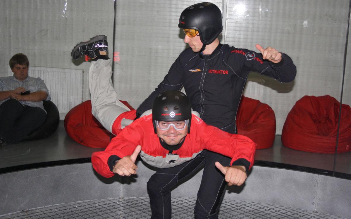 Simulateur de chute libre EVG Prague
