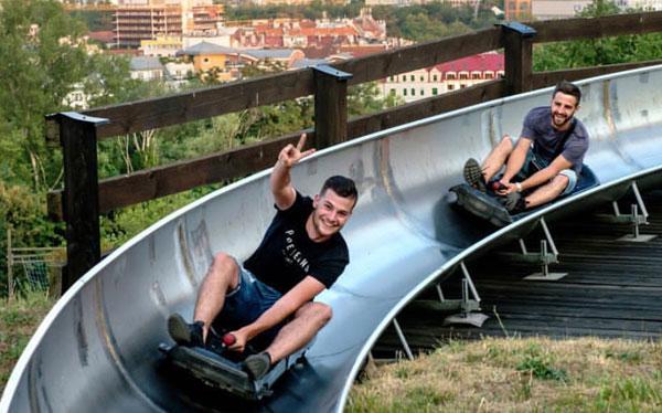 Activité bobsleigh EVG Prague