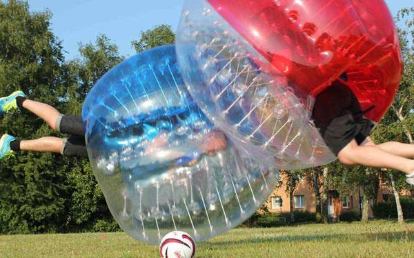 Activité bubble foot Prague