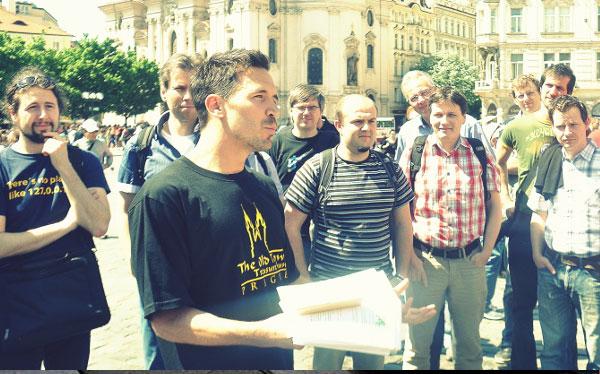 Chasse au trésor EVG Prague