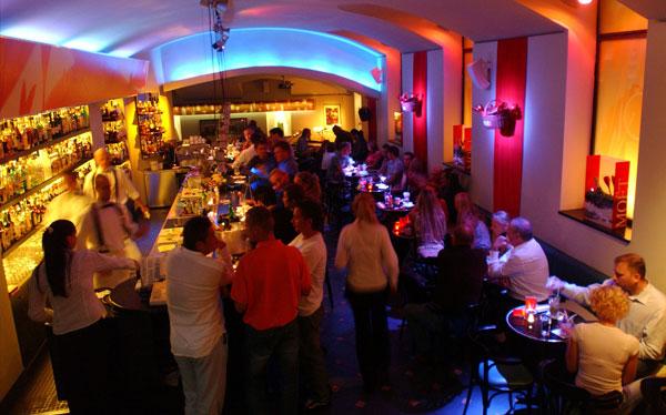 Cocktail bar EVG Prague