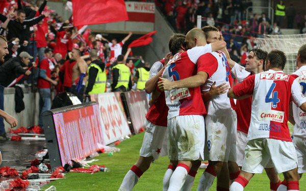 Match de football EVG Prague