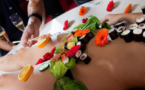 Sushi body buffet EVG Prague