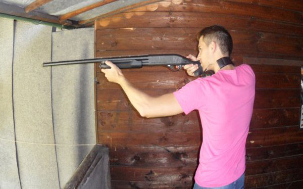 Shooting 5 armes EVG Prague