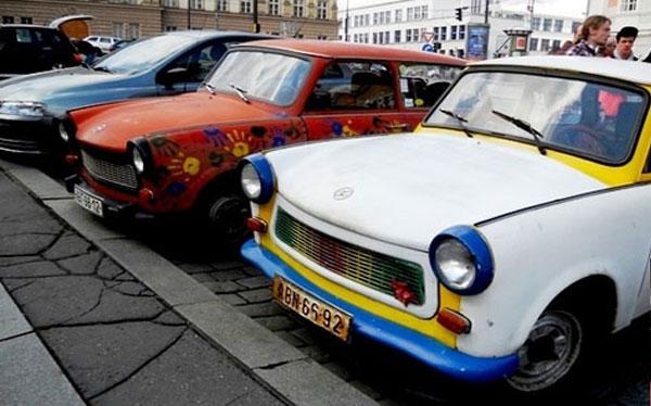 City tour trabants à Prague